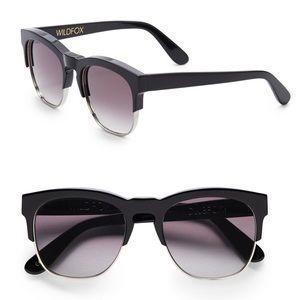 Wildfox Clubfox Black Sunglasses